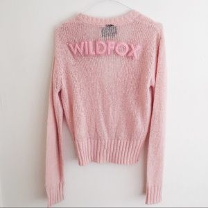 Wildfox Couture Ballet High Waist Cardigan